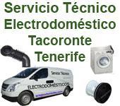 Servicio Técnico Electrodomésticos Tacoronte Tenerife