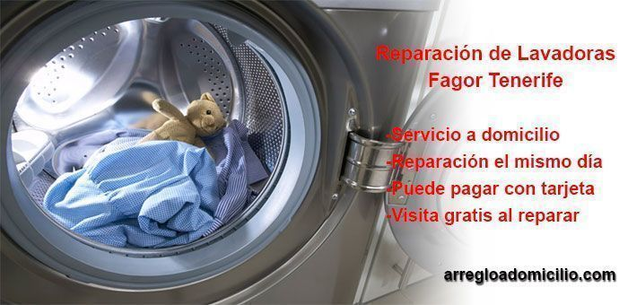 reparacion de lavadora fagor tenerife
