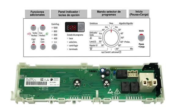 reparación circuito electrónico de lavadora en tenerife