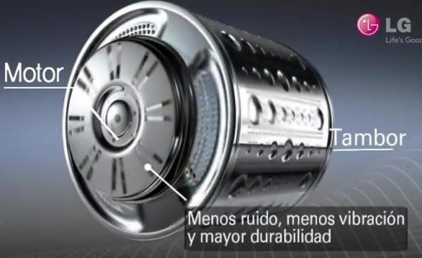reparación lavadoras LG motor inverter en Tenerife