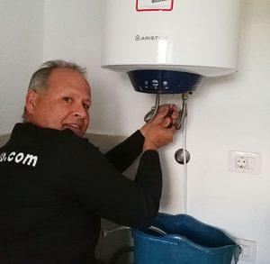 técnico de calentadores junkers