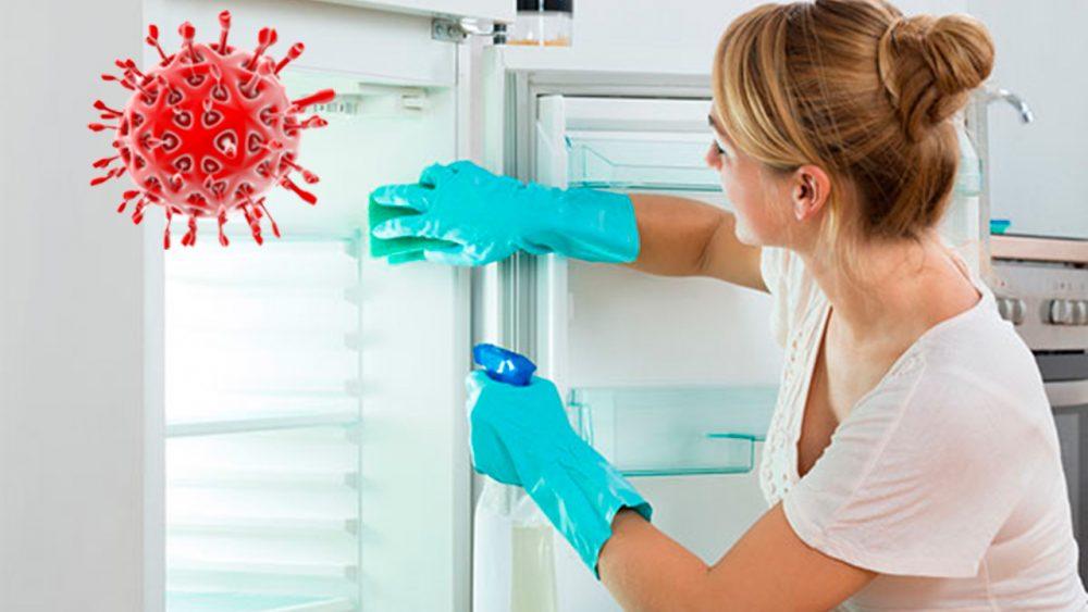 desinfectar neveras y electrodomesticos