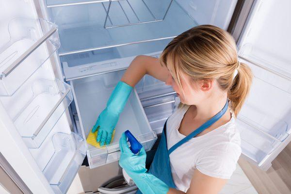 como limpiar nevera